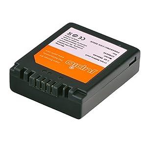 Jupio CPA0010 - Batería para cámara de fotos equivalente a Panasonic CGR-S002/DMW-BM7 (lithium ion, 650 mAh)
