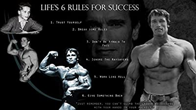 Arnold Schwarzenegger Olympia Bodybuilding Motivational poster 43 inch x 24 inch / 24 inch x 13 inch