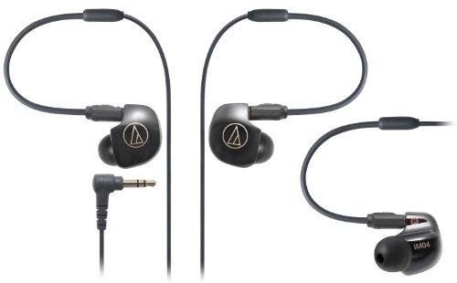 audio-technica IM Series カナル型モニターイヤホン クアッド・バランスド・アーマチュア型 ブラック ATH-IM04