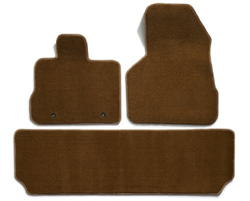 Premier custom fit 3 piece set with 2 front and 1 rear for 1 piece floor mats