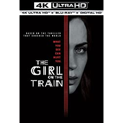 The Girl on the Train [4K Ultra HD + Blu-ray]