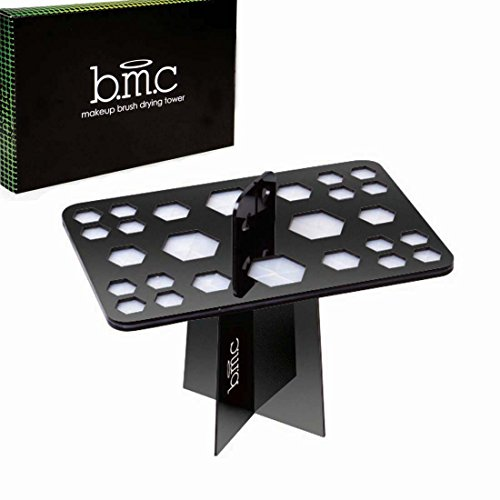 bmc-26-mix-size-makeup-brush-holder-organizer-folding-collapsible-air-drying-tower