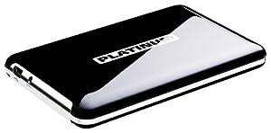 Platinum MyDrive 1 TB Externe Festplatte (6,4 cm (2,5 Zoll), 5400 U/min, 8 ms, 8 MB Cache, USB 2.0) schwarz