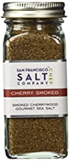 4 Oz Glass Shaker  Cherrywood Smoked Sea Salt