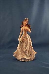 Amazon.com: Sparkle Quinceanera Figurine / Cake Topper: Kitchen