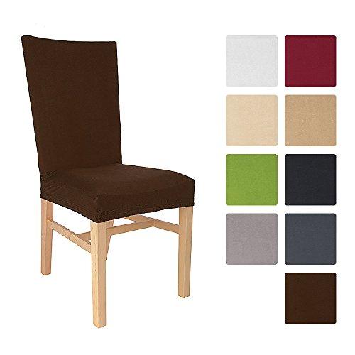 Beautissu-Stuhlhusse-Emma-45x45-cm-Stretch-Stuhlbezug-aus-Baumwolle-Bi-Elastic-Husse-KO-TEX-Dunkel-Braun