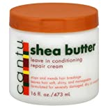 Cantu Leave In Conditioning Repair Cream, Shea Butter, 16 oz.