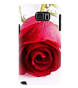 Printvisa Blooming Red Rose Pic Back Case Cover for Samsung Galaxy Note 5 N920