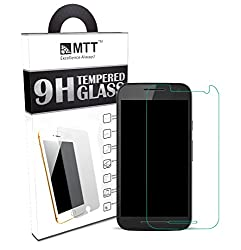 MTT® Premium Tempered Glass Screen Protector for Moto G3