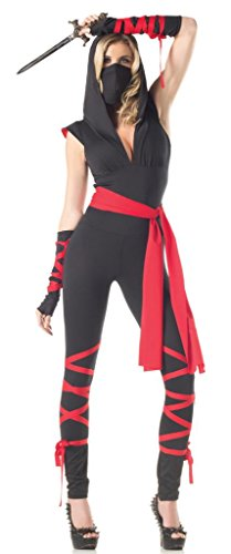 Costume Adventure Women's Mysterious Sexy Ninja Costume Outfit