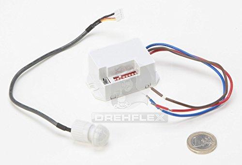 Drehflex-Mini-PIR-Bewegungsmelder-zum-Einbauen-240Volt-LED-geeignet
