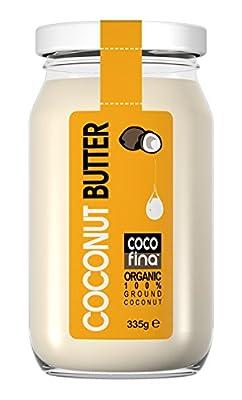 Cocofina Organic Unrefined Natural Coconut Butter 335 g