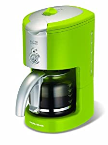 Morphy Richards Compliments 47054 Filter Coffee Maker, Lime Green: Amazon.co.uk: Kitchen & Home