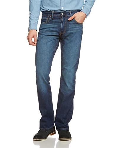 Levi's Jeans 527 Low Bootcut [Blu Scuro Used]