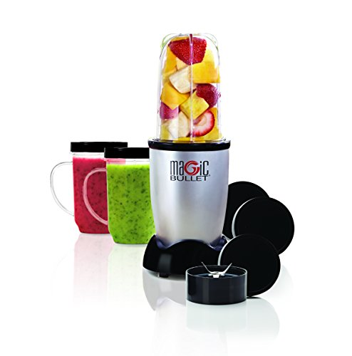 Learn More About Magic Bullet Blender, Small, Silver