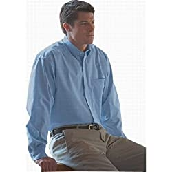 Bill Blass Men's Wrinkle-free Long Sleeve Pinpoint Shirt