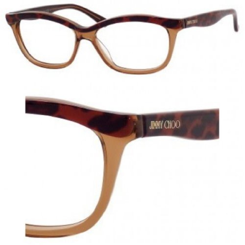 Jimmy Choo Eyeglasses Jimmy Choo 69 0XB6 Leopard Brown