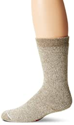 Wigwam Men\'s 40 Below Heavyweight Boot Socks, Grey Twist, Medium
