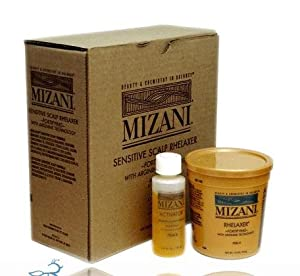 Mizani sensitive scalp relaxer 4app