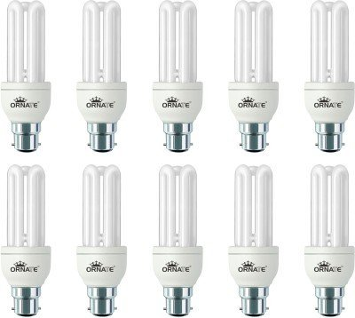 Ornate 20 W CFL Bulb (White, Pack of 10) Image