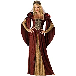 Renaissance Maiden Costume- Large - Dress Size 10-14