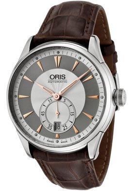 Oris Men's 623 7582 4051LS Artelier Automatic Leather Strap Watch