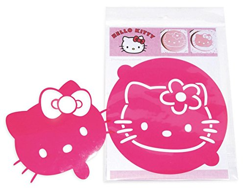 Pochoirs - Lot de 2 pochoirs ø 20 cm : Hello Kitty