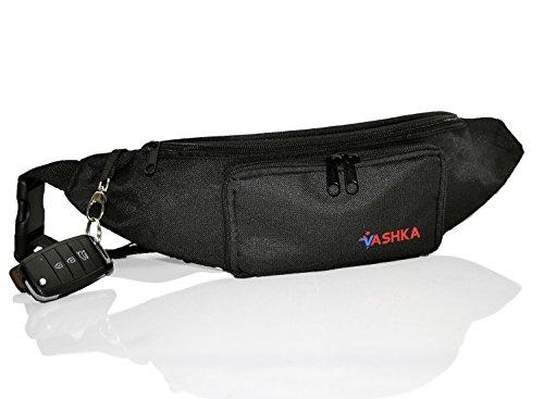 Vashka Marsupio da escursionismo con allaccio laterale, cintura regolabile e tasca con zip
