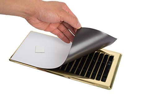 Revitalizaire Magnetic Vent Cover - Includes Powerful Neodymium Magnets That Ensure a Tight Seal on Floor, Wall or Ceiling Registers, 3 Pack (5.5 Inch x 12 Inch) (Air Vent Ceiling Cover compare prices)