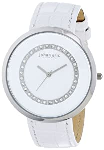 Johan Eric Women's JE5002-04-001 Vejle Analog Display Quartz White Watch