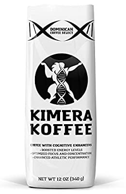 Kimera Koffee - Nootropic Infused Ground Coffee - High Altitude Single Estate (12oz) from Kimera Koffee