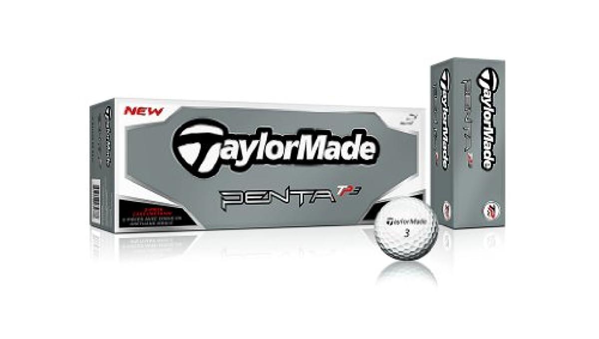 [해외] TaylorMade 테일러메이드 US사양 PENTA TP3 다스(12개입)볼 펜다 taylormade