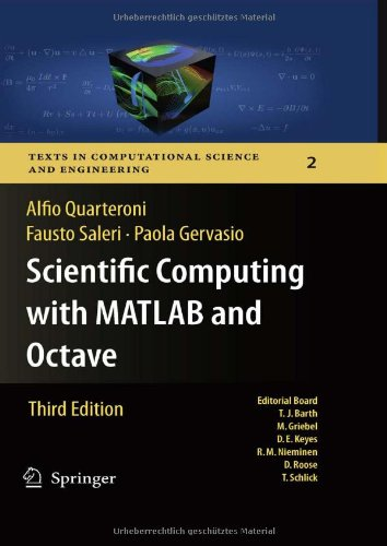 Scientific Computing with MATLAB and Octave (Texts in...