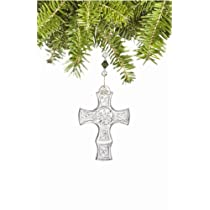 Waterford Crystal 2007 Kilree Cross Ornament