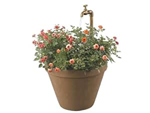 """Kenroy Home Full Bloom Outdoor fountain in Terra Cotta finish is 25"""" high"""