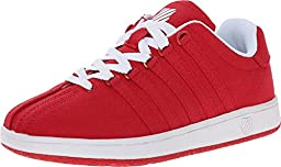 K-Swiss Classic VN T Kids Tennis Shoes Red/White 6 Toddler