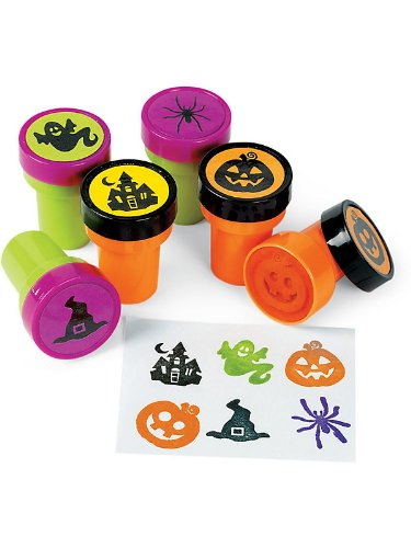 Halloween Mini Stampers (12-pack) - 1