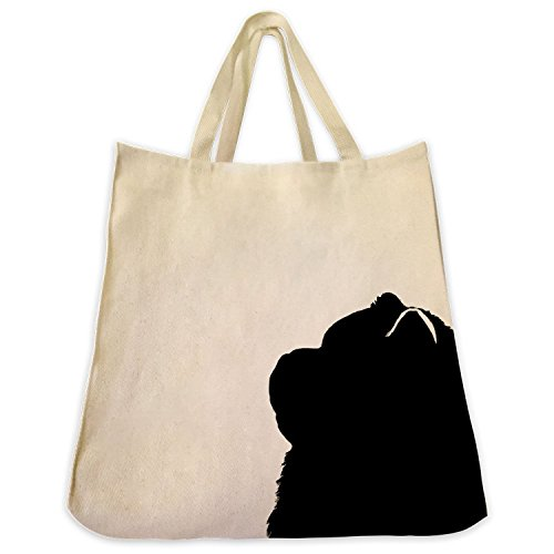 chow-chow-silhouette-extra-large-cotton-twill-tote-bag