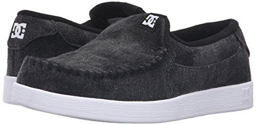DC Men's Villain TX Skateboarding Shoe, Black Acid, 11 M US