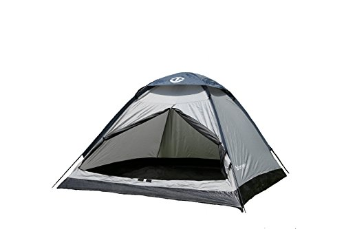 Tahoe Gear Willow 2 Person 3-Season Family Dome Camping Tent - Black/Grey (Tahoe Gear compare prices)