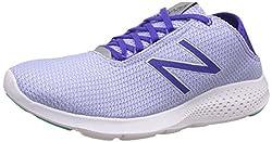 New Balance Womens Purple and White Running Shoes - 6 UK/India (39 EU)