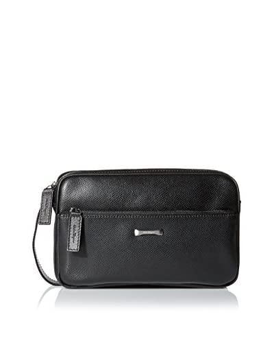 Salvatore Ferragamo Men's San Francisco Dopp Kit, Nero