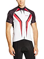 Kilpi Maillot Ciclismo Champion-M (Rojo / Negro)
