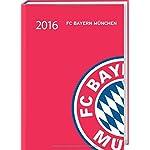 FC Bayern München 17-Monats-Kalenderbuch A6 2016