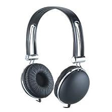 buy Premium Over-Head Stereo Earphones Headset Headphones W/ Microphone For Lg G4/ Joy 4/ Leon/ Spirit/ Magna (Black) + Mynetdeals Stylus