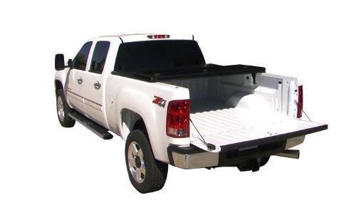 Tonno Pro HF-550 Hard Fold Black Tri-Fold Truck Tonneau Cover (2010 Tacoma Tonneau Cover compare prices)