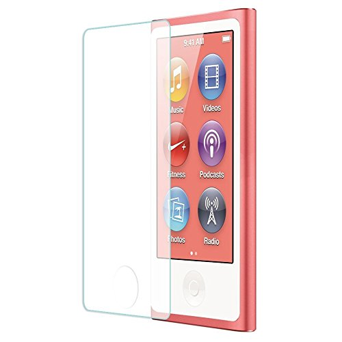 Everydaysource® Compatible With Apple® iPod® nano® 7th Generation Clear TPU Rubber Skin Case with Belt Clip