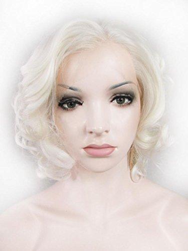 imstyle kunsthaar 2015 blond kurz big gelockt per cke marilyn monroe frisur kunsthaar per cke. Black Bedroom Furniture Sets. Home Design Ideas