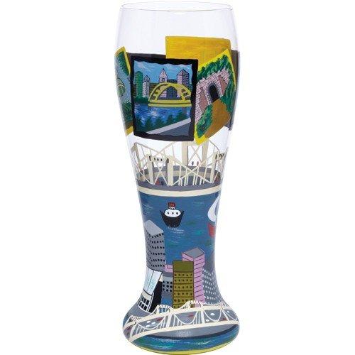 Santa Barbara Design Studio Pil-5555P Lolita Gotta Love Beer Pilsner Glass, Pittsburgh