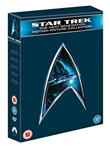 Star Trek - The Next Generation Movie Collection (Star Trek: Generations, Star Trek: First Contact, Star Trek: Insurrection, Star Trek: Nemesis) [Import anglais]